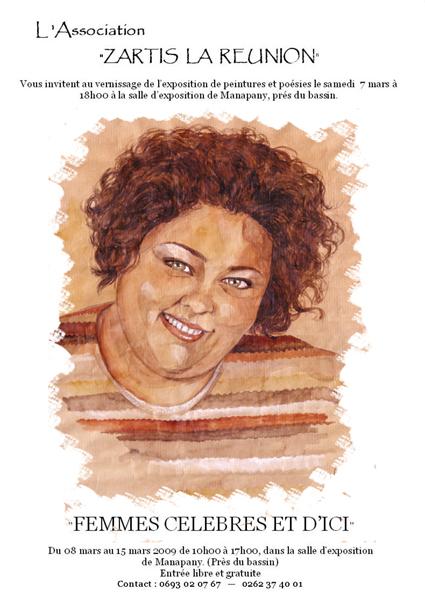 Affiche Nicole Dambreville