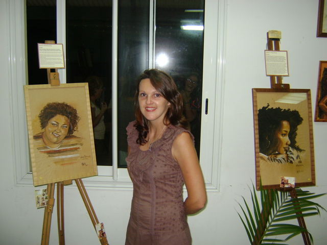 Moi, expo Manapany, mars 2009